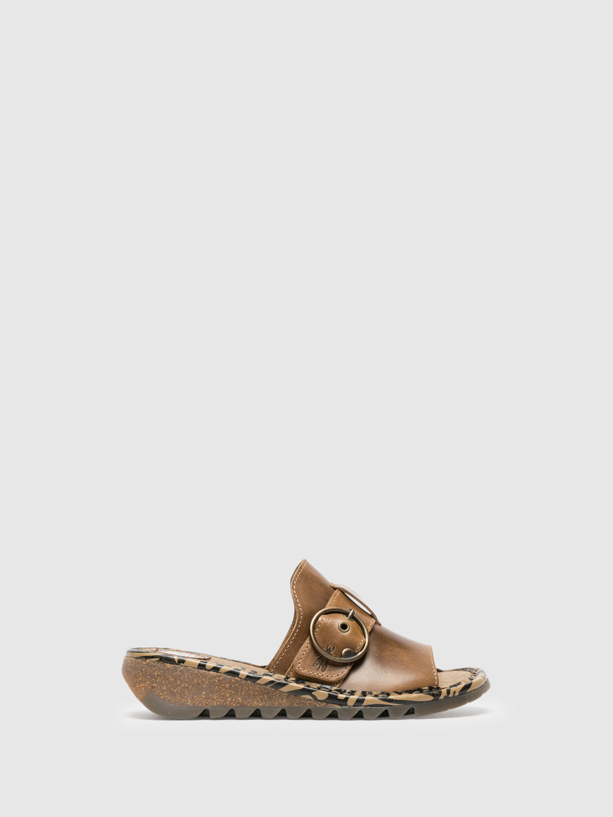Fly London Peru Open Toe Mules