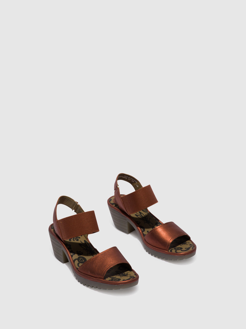 RosyBrown Open Toe Sandals