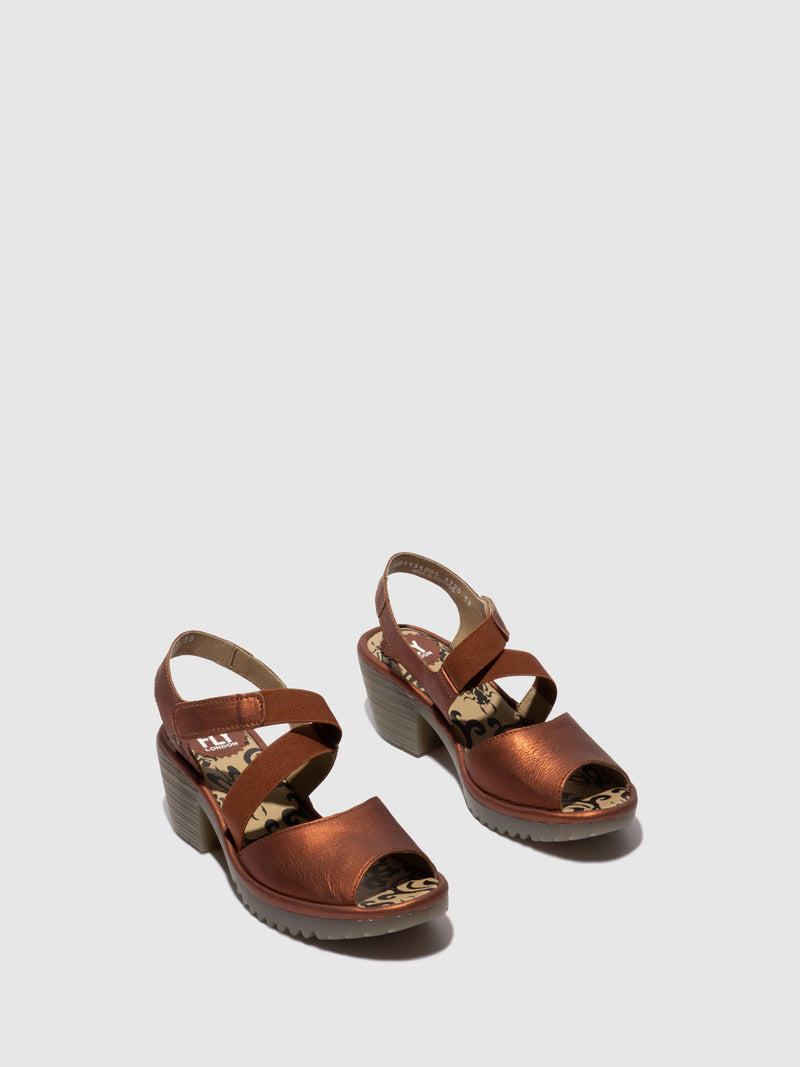 Velcro Sandals WUNI135FLY COPPER