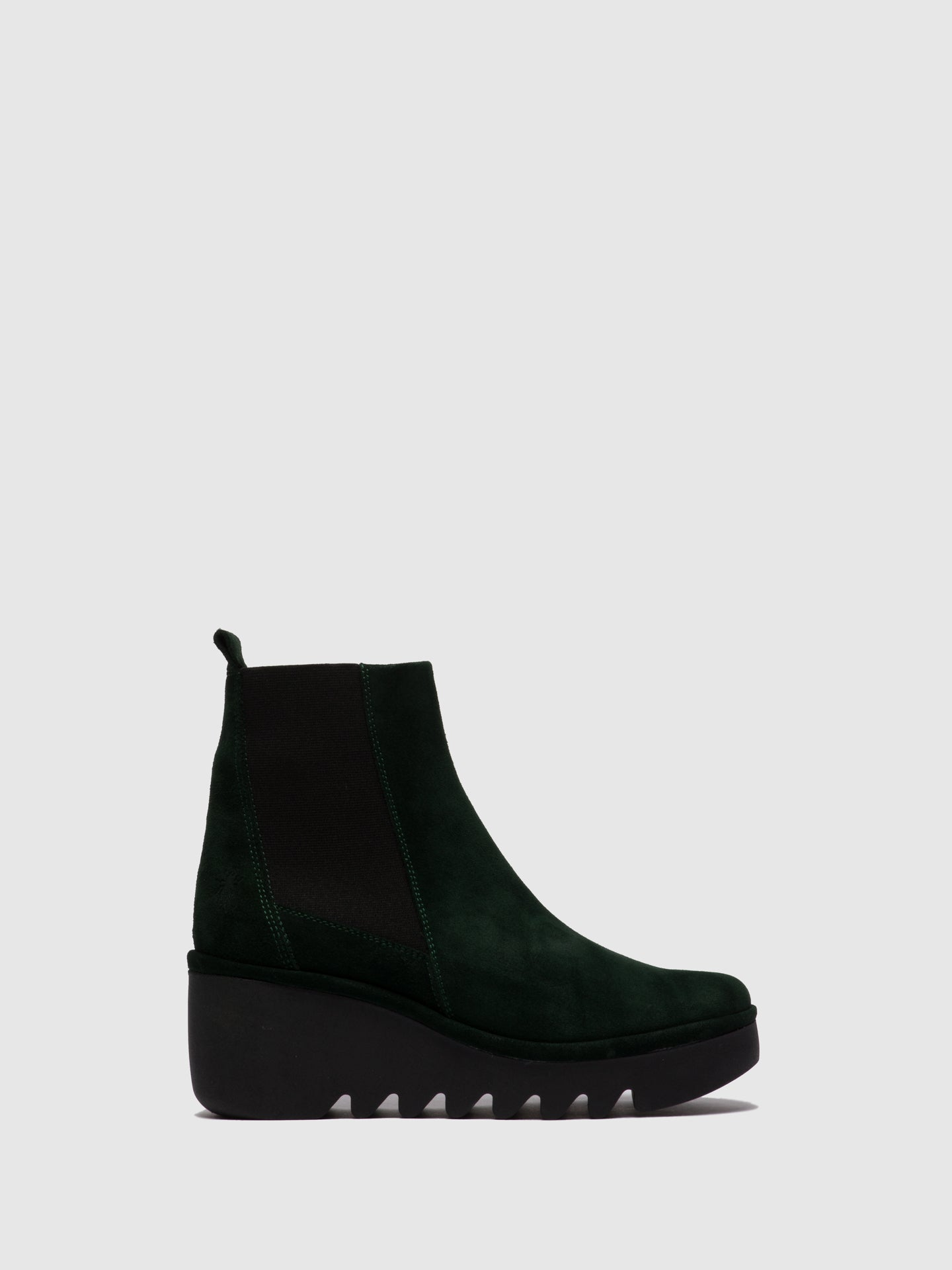 Fly London Chelsea Ankle Boots BAGU233FLY OILSUEDE GREEN FOREST