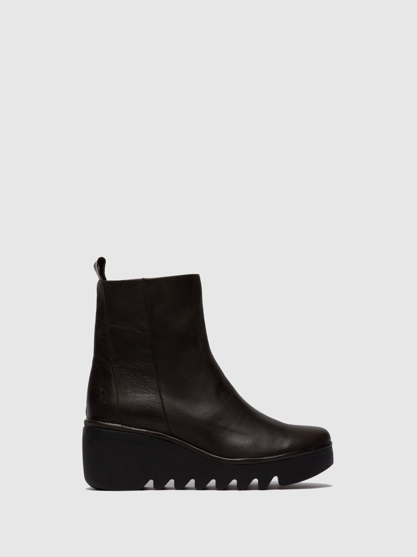 Fly London Zip Up Ankle Boots BALE250FLY VERONA GROUND