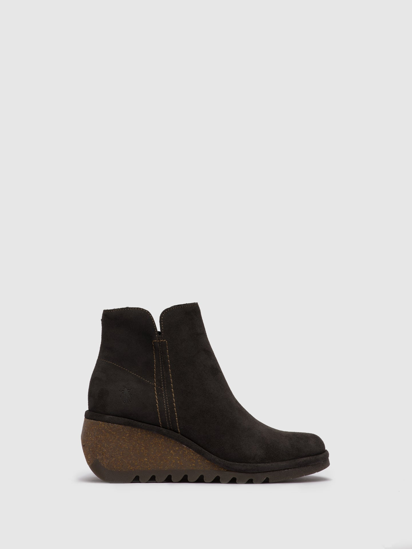 Fly London Zip Up Ankle Boots NILO256FLY OILSUEDE DIESEL