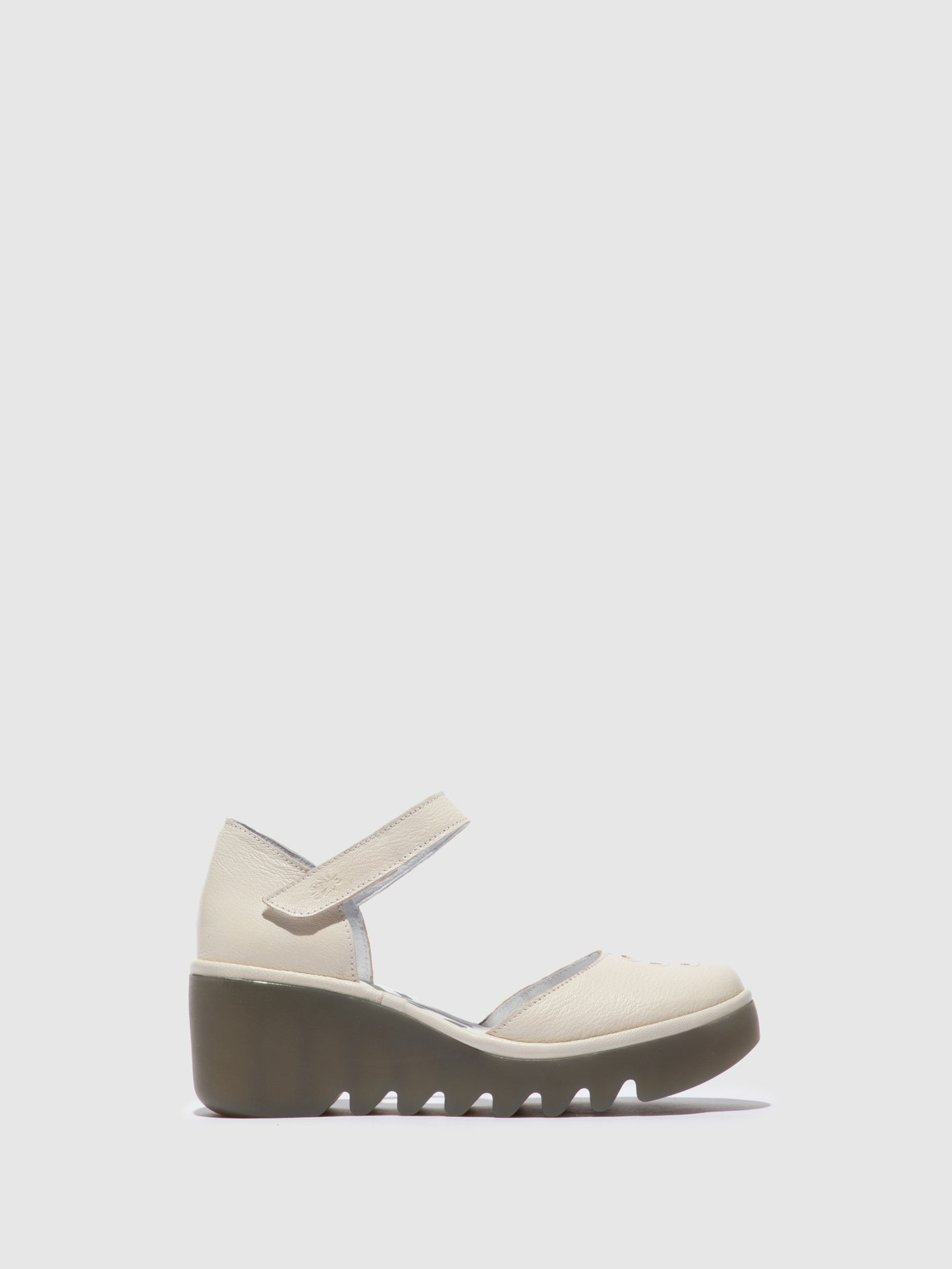Fly London Ankle Strap Sandals BISO305FLY MOUSSE OFFWHITE