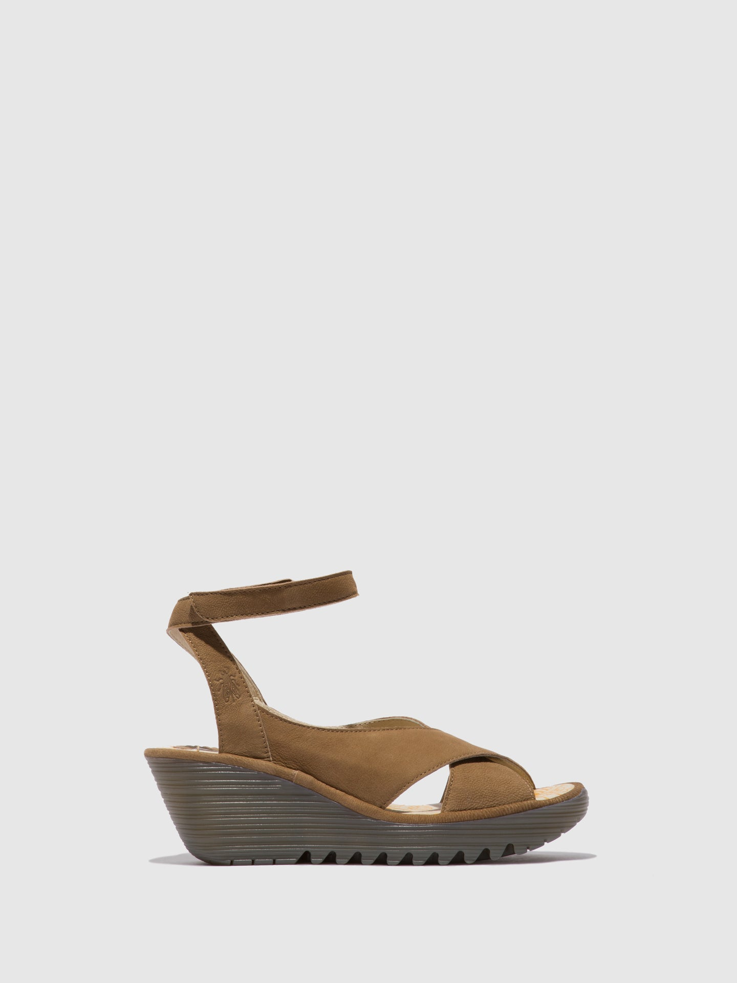 Fly London Ankle Strap Sandals YIVI308FLY CUPIDO SAND