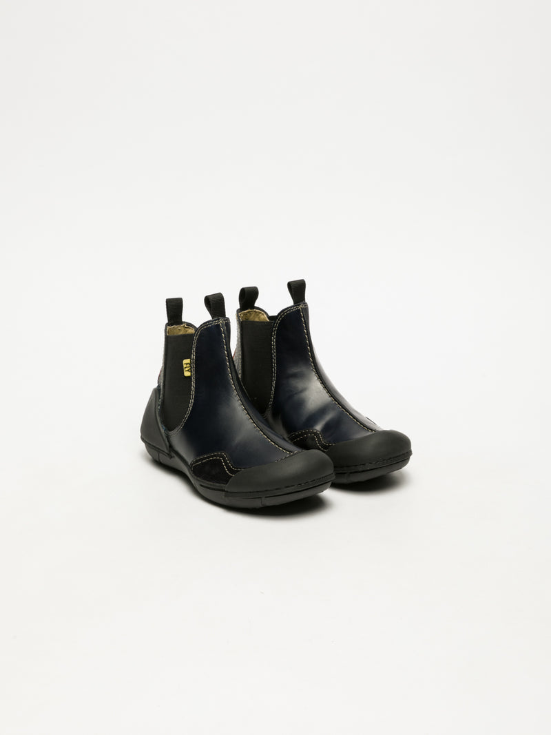 Navy Chelsea Ankle Boots