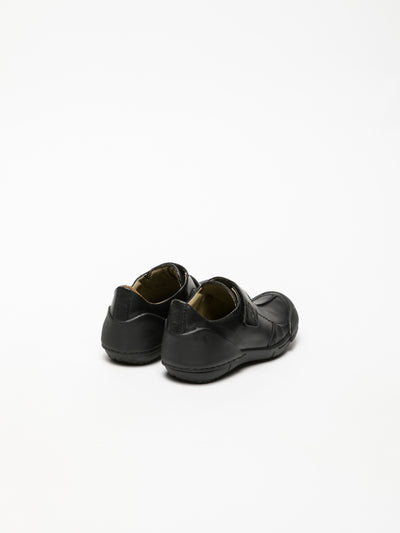 Fly London Black Round Toe Shoes