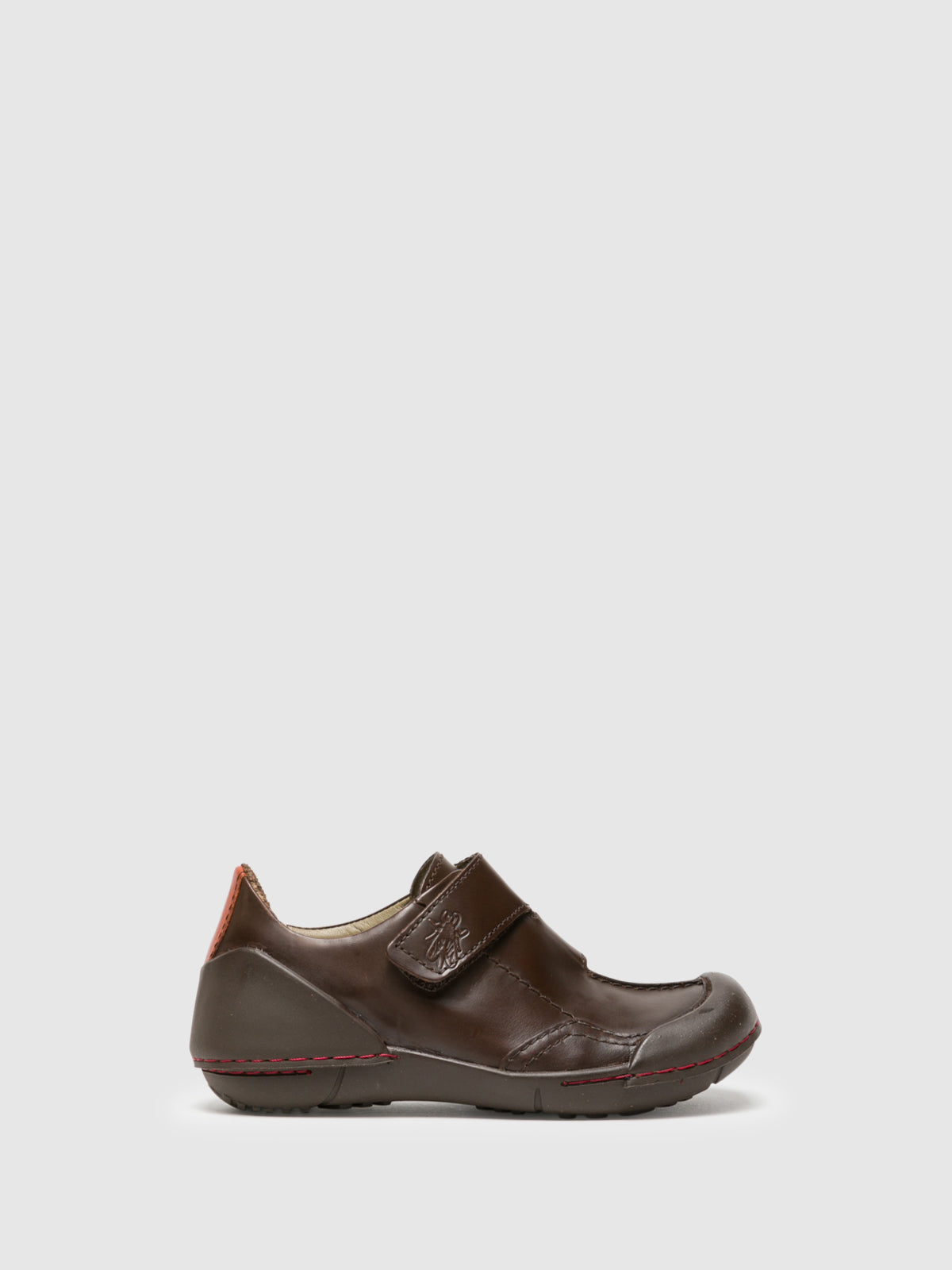 Fly London Brown Round Toe Shoes
