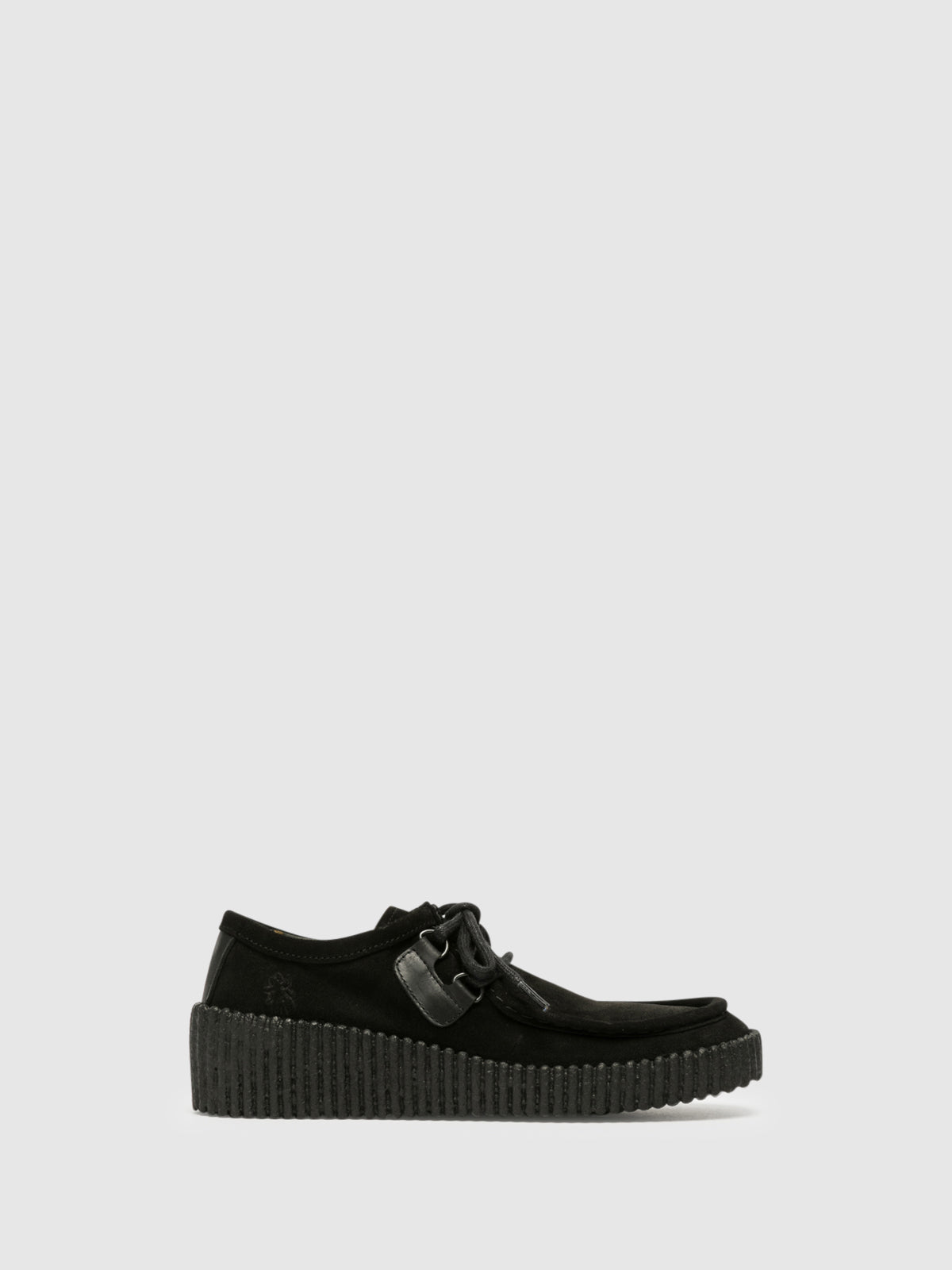 Fly London Black Platform Shoes