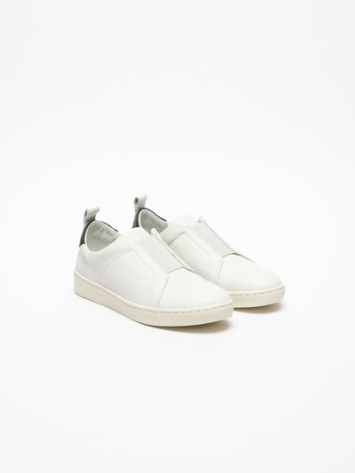 Fly London White Elasticated Trainers