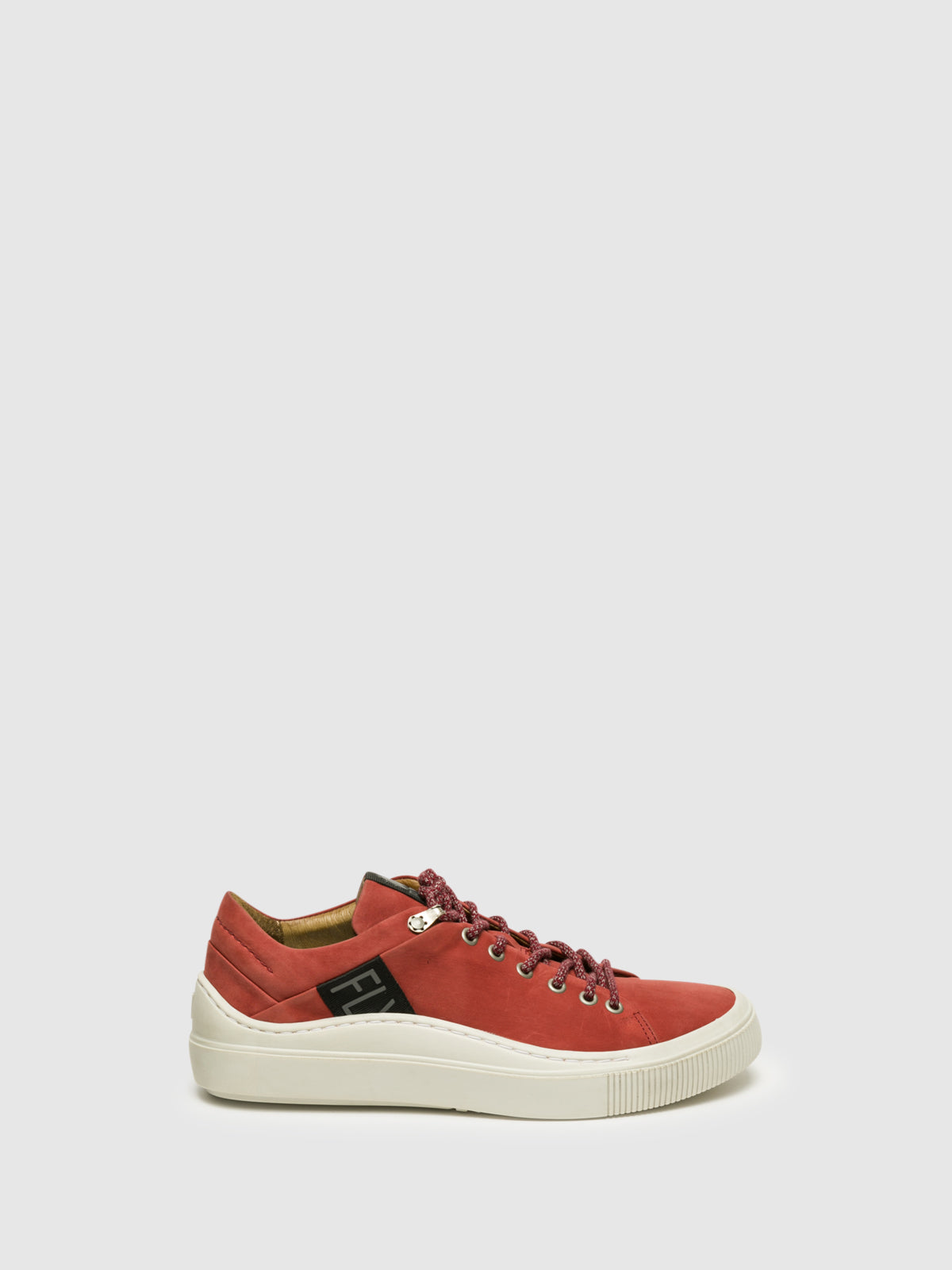 Fly London DarkRed Lace-up Trainers