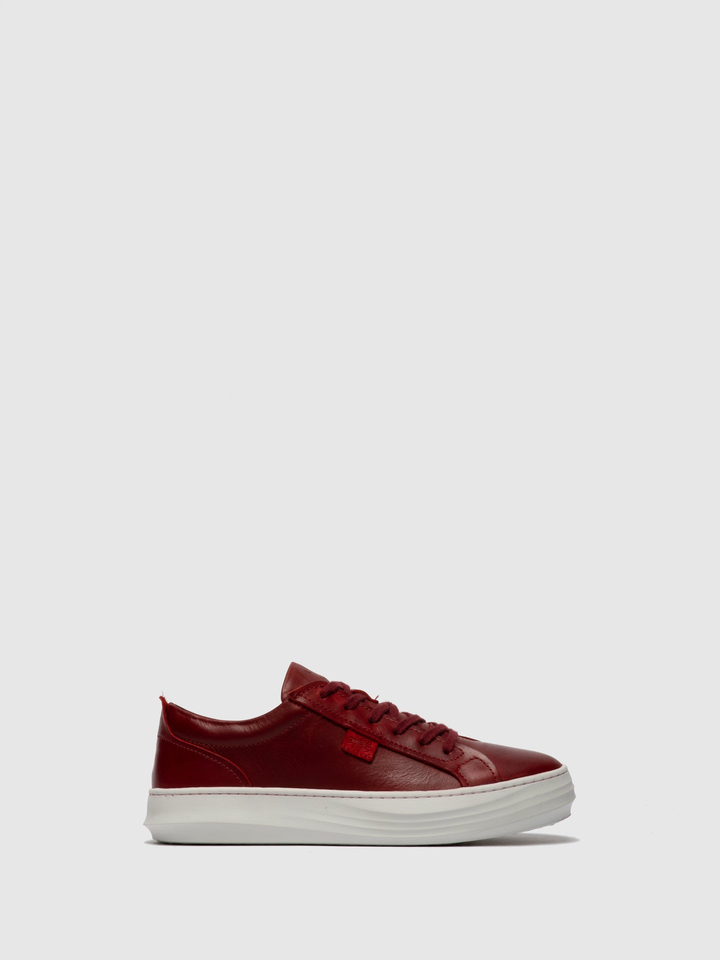Fly London Lace-up Trainers CIVE424FLY RUG RED