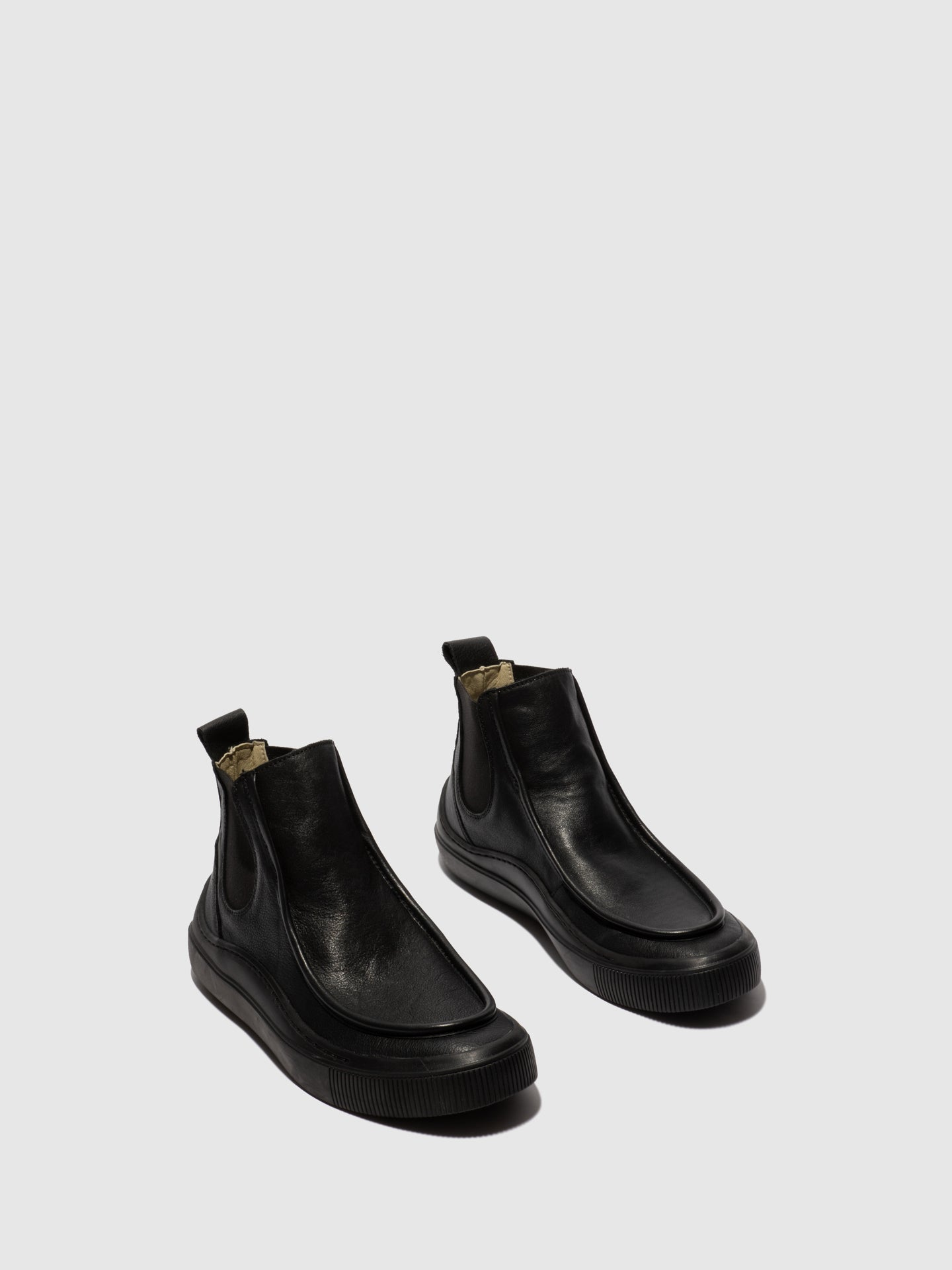 Fly London Chelsea Ankle Boots SAMO430FLY BIO BLACK