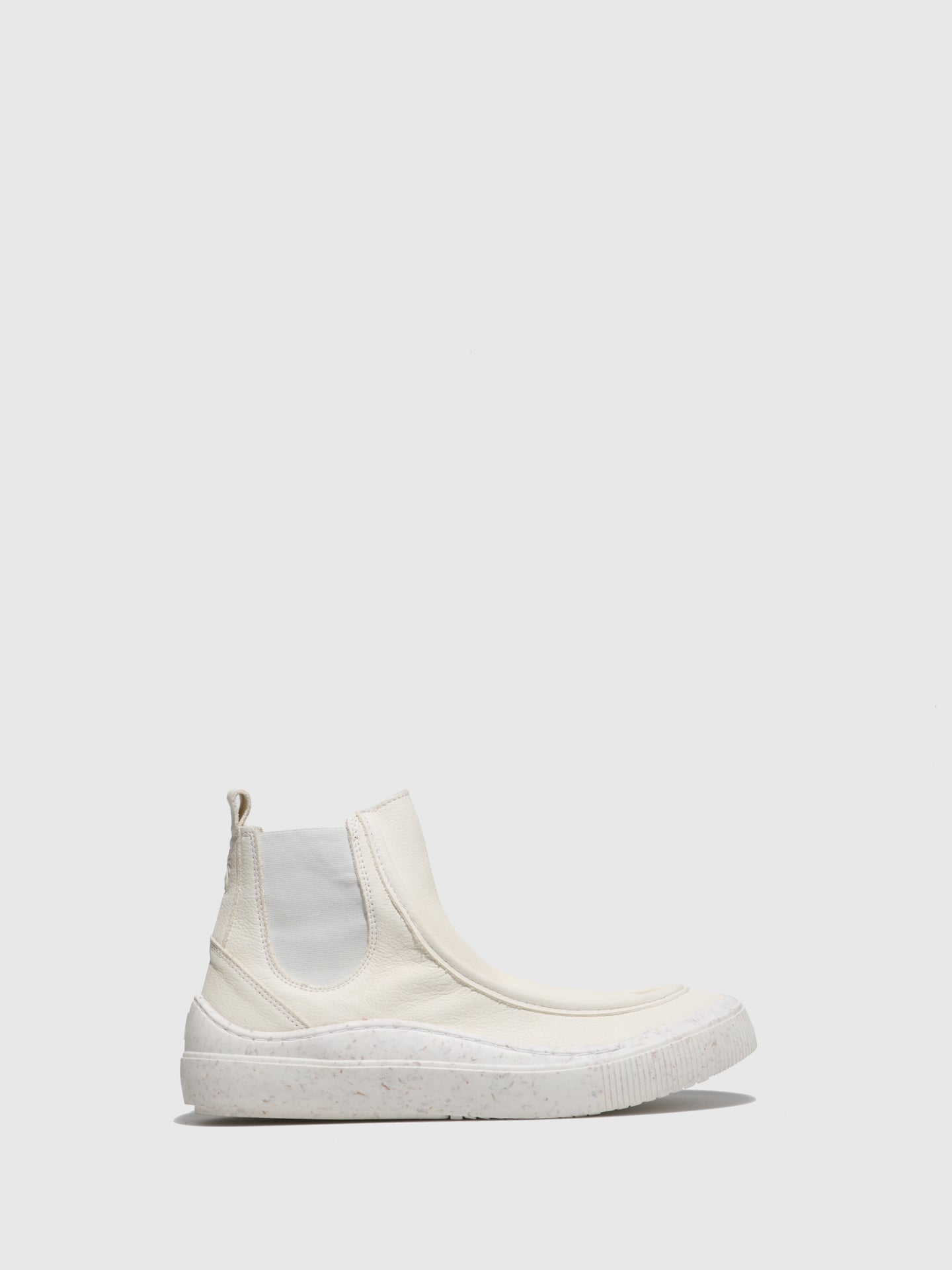 Fly London Chelsea Ankle Boots SAMO430FLY BIO OFFWHITE