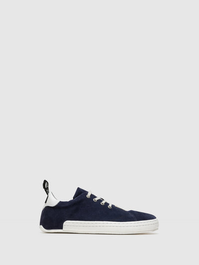 Fly London Navy Lace-up Trainers