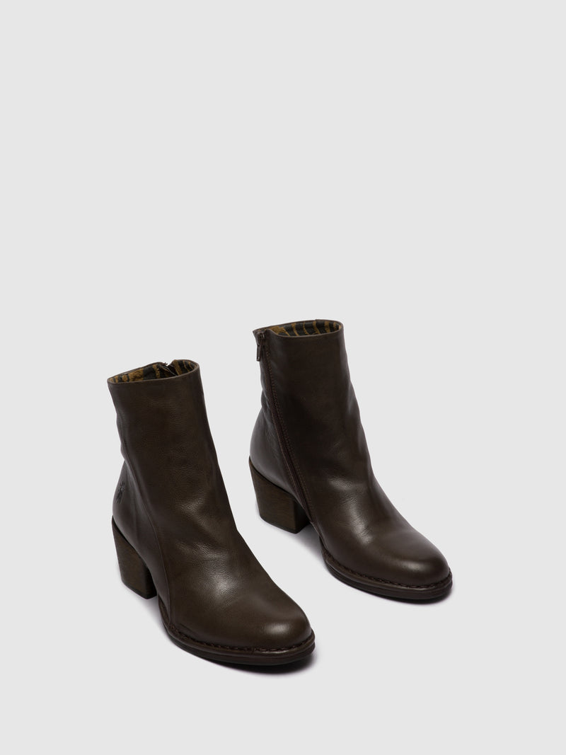 Zip Up Ankle Boots LUPE233FLY VERONA GROUND