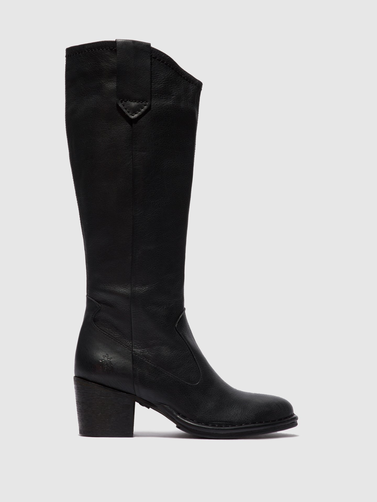Fly London Zip Up Boots LEON236FLY VERONA BLACK