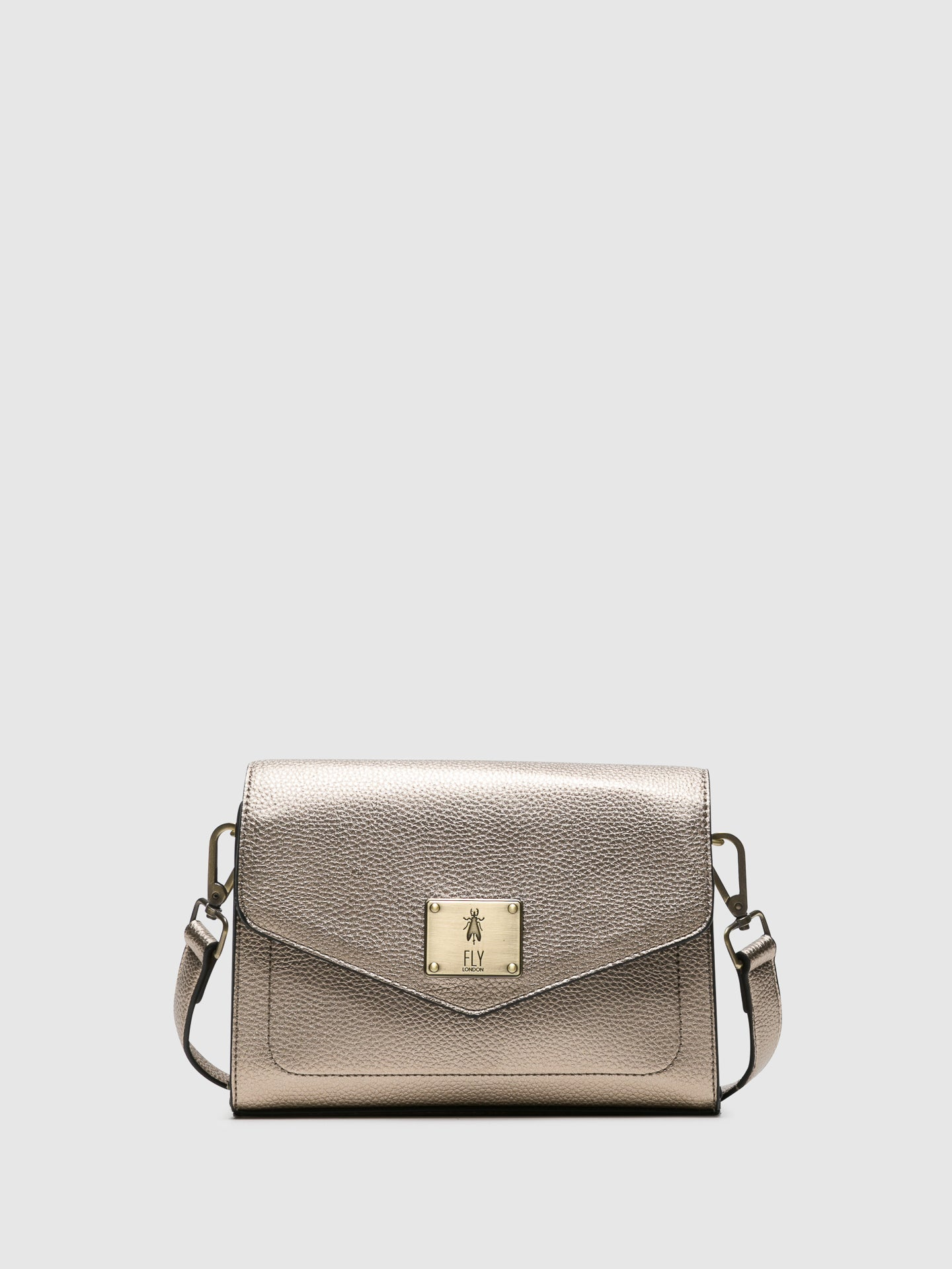 Fly London Gold Crossbody Bags