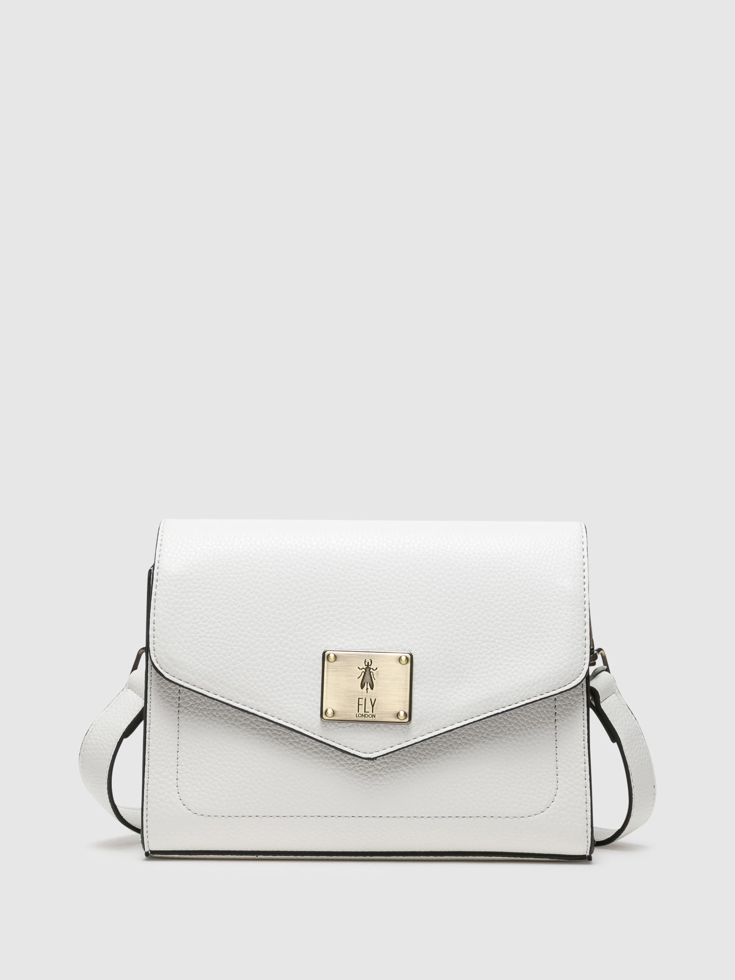 Fly London White Crossbody Bags
