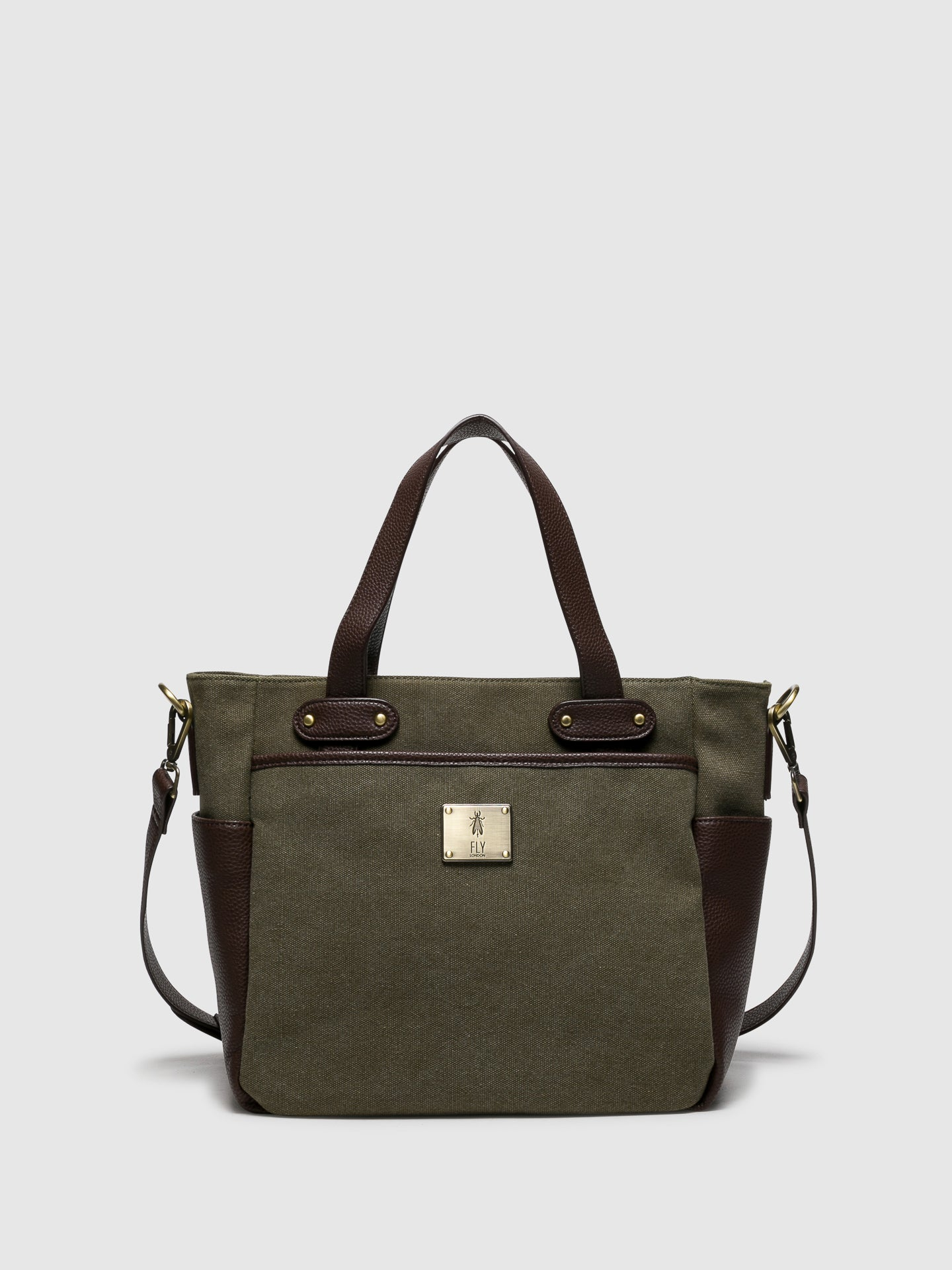 Fly London Brown Tote Bags