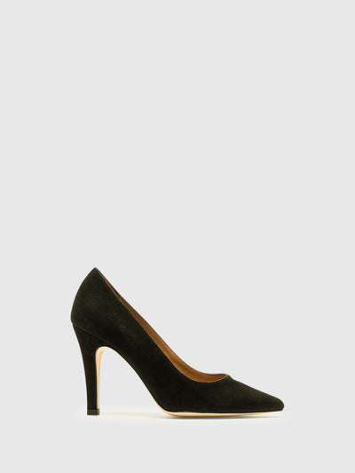 Foreva Black Classic Pumps Shoes
