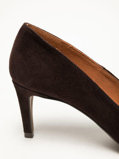 Foreva Brown Stiletto Shoes