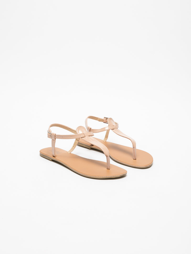 Foreva Pink Flat Sandals