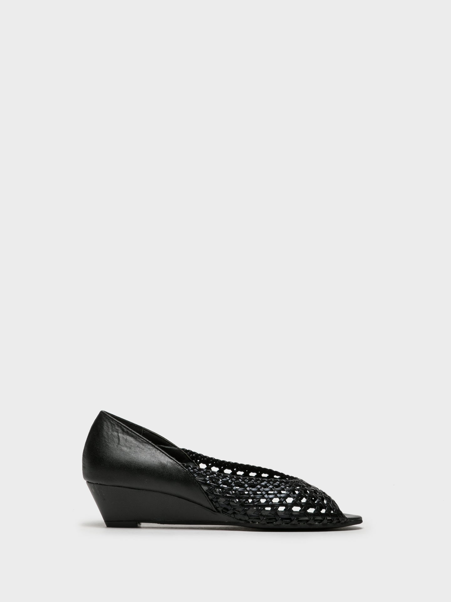 Foreva Black Wedge Shoes