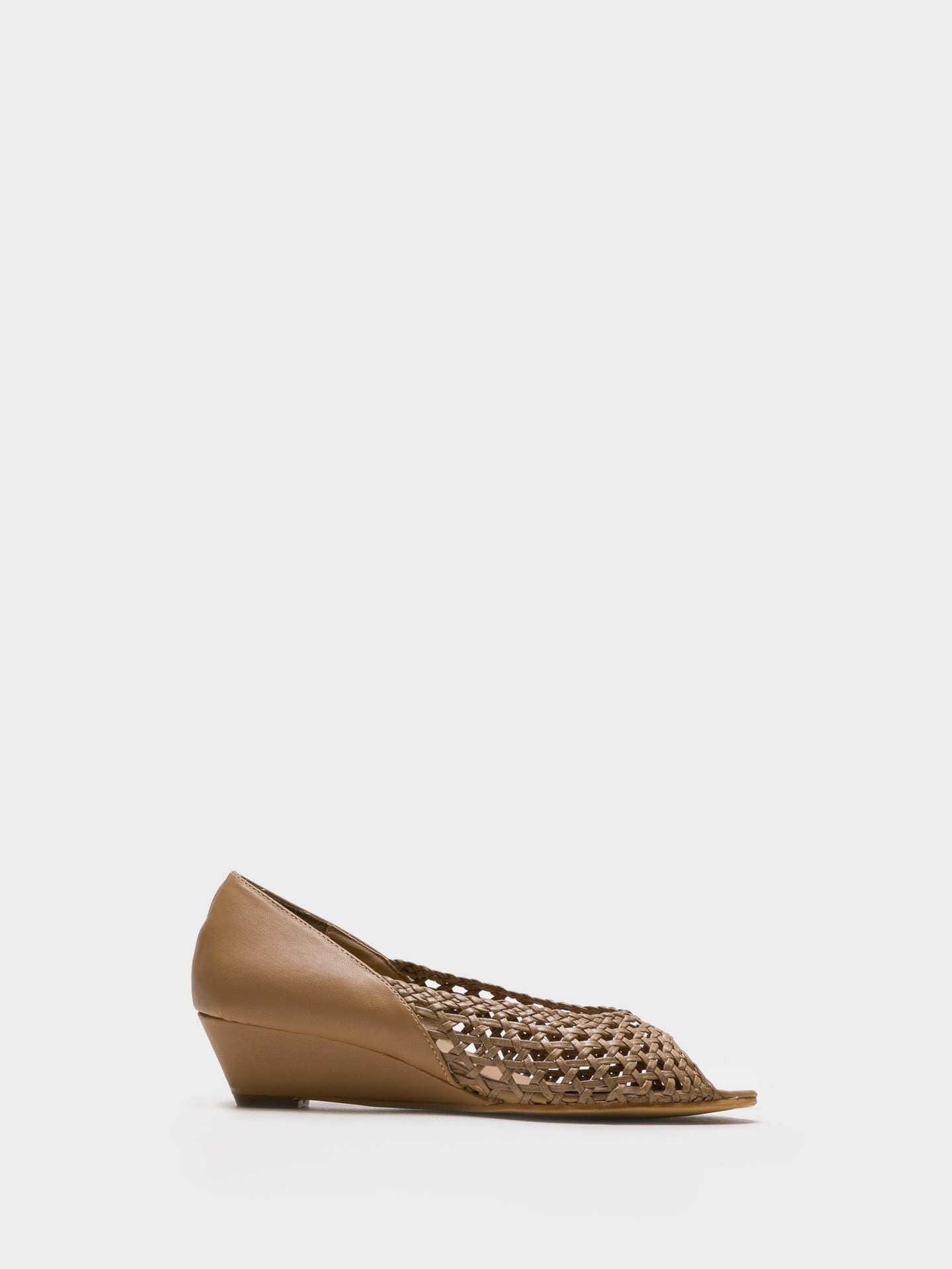 Foreva SandyBrown Wedge Shoes