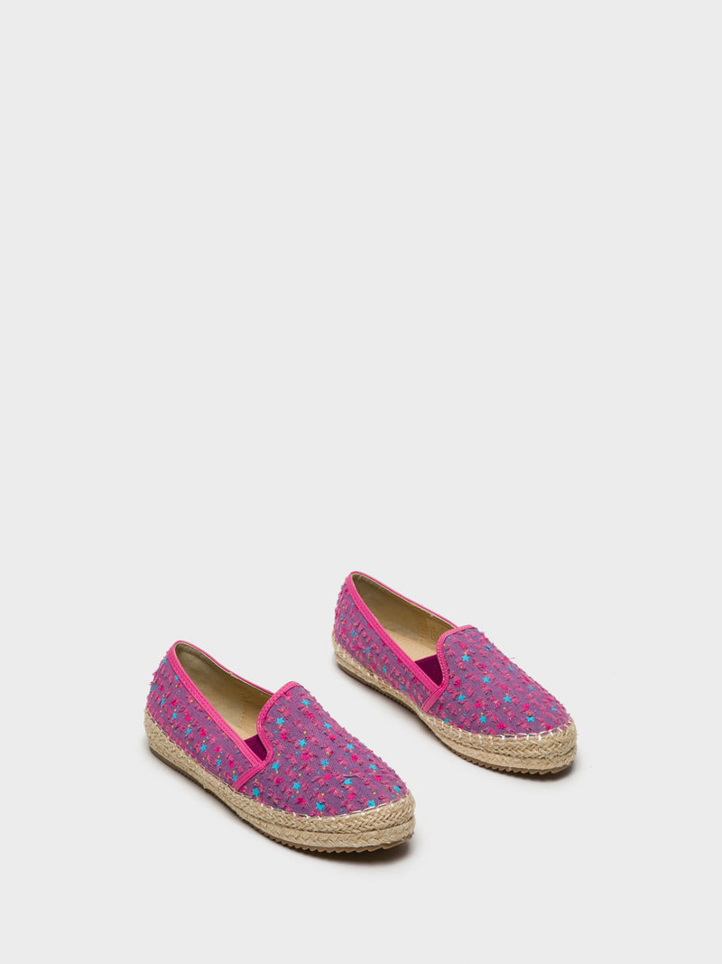 HotPink Elasticated Espadrilles