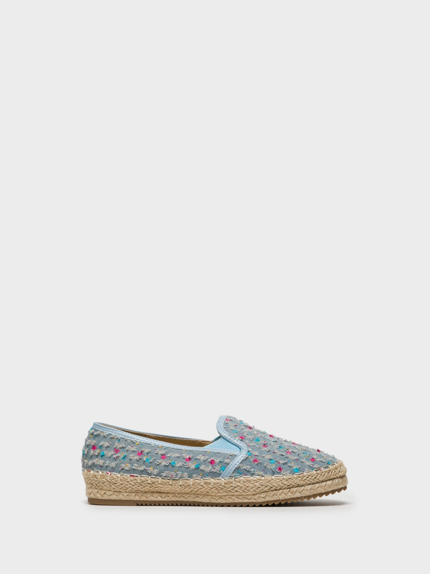 Foreva LightBlue Elasticated Espadrilles