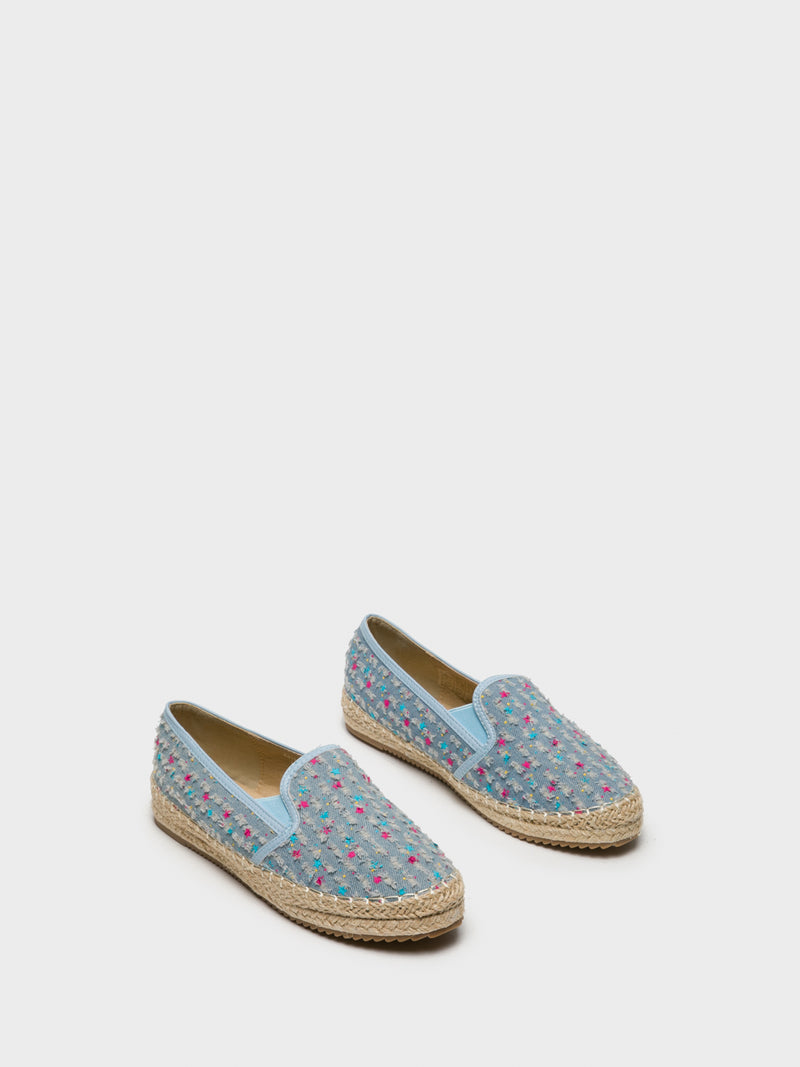 LightBlue Elasticated Espadrilles
