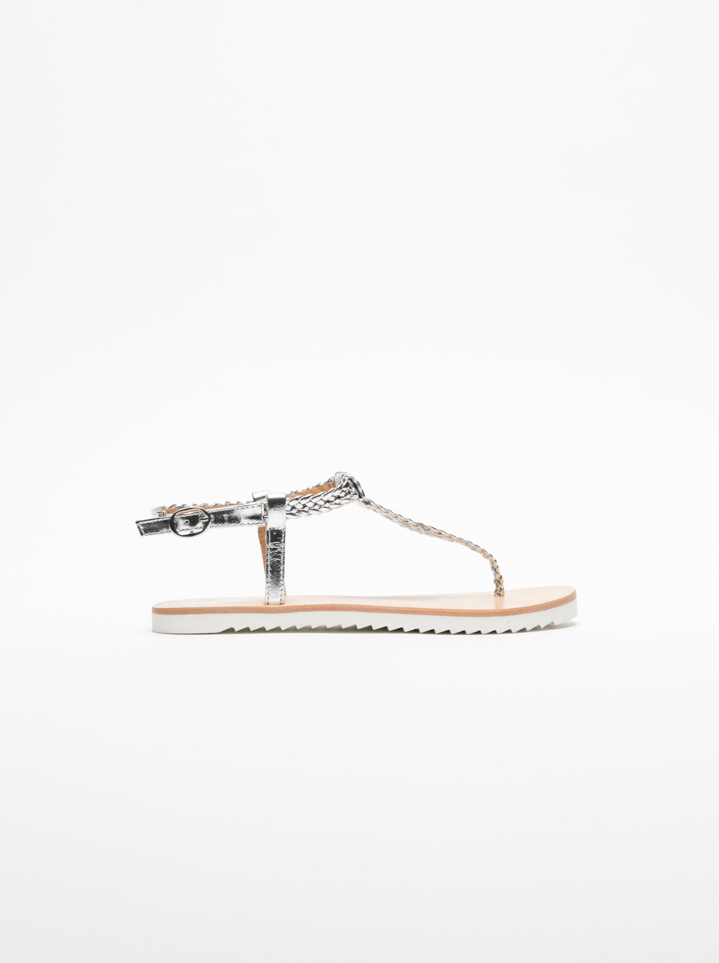 Foreva Silver Flat Sandals
