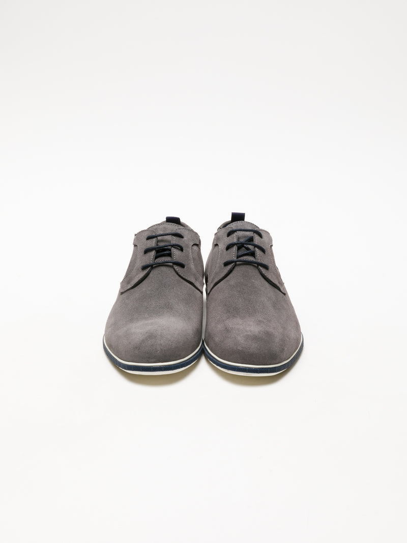 Gray Derby Shoes