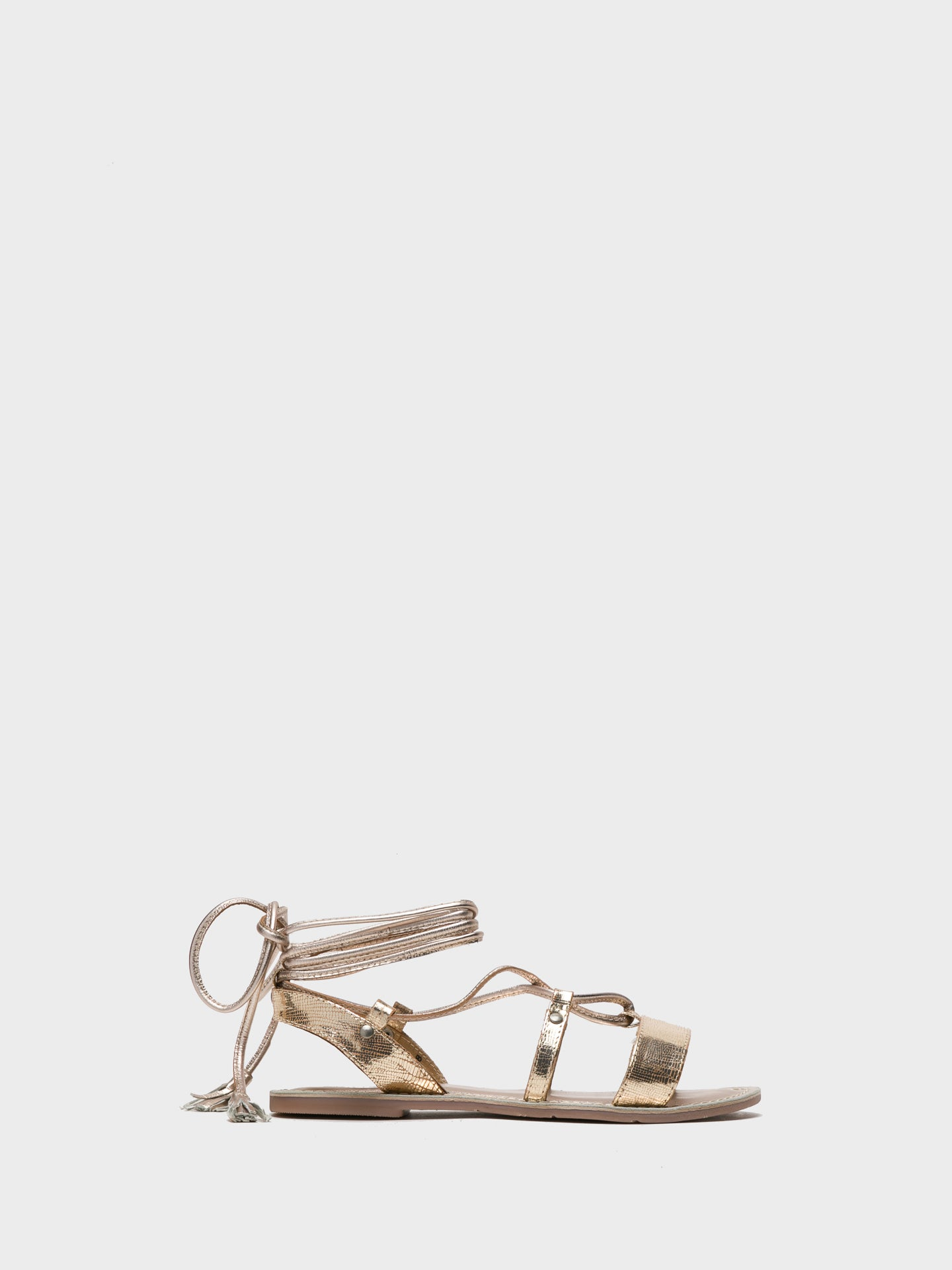 Foreva Gold Gladiator Sandals