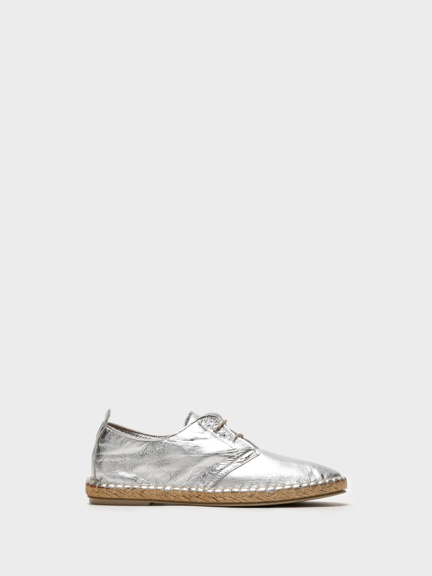 Foreva Silver Lace-up Shoes