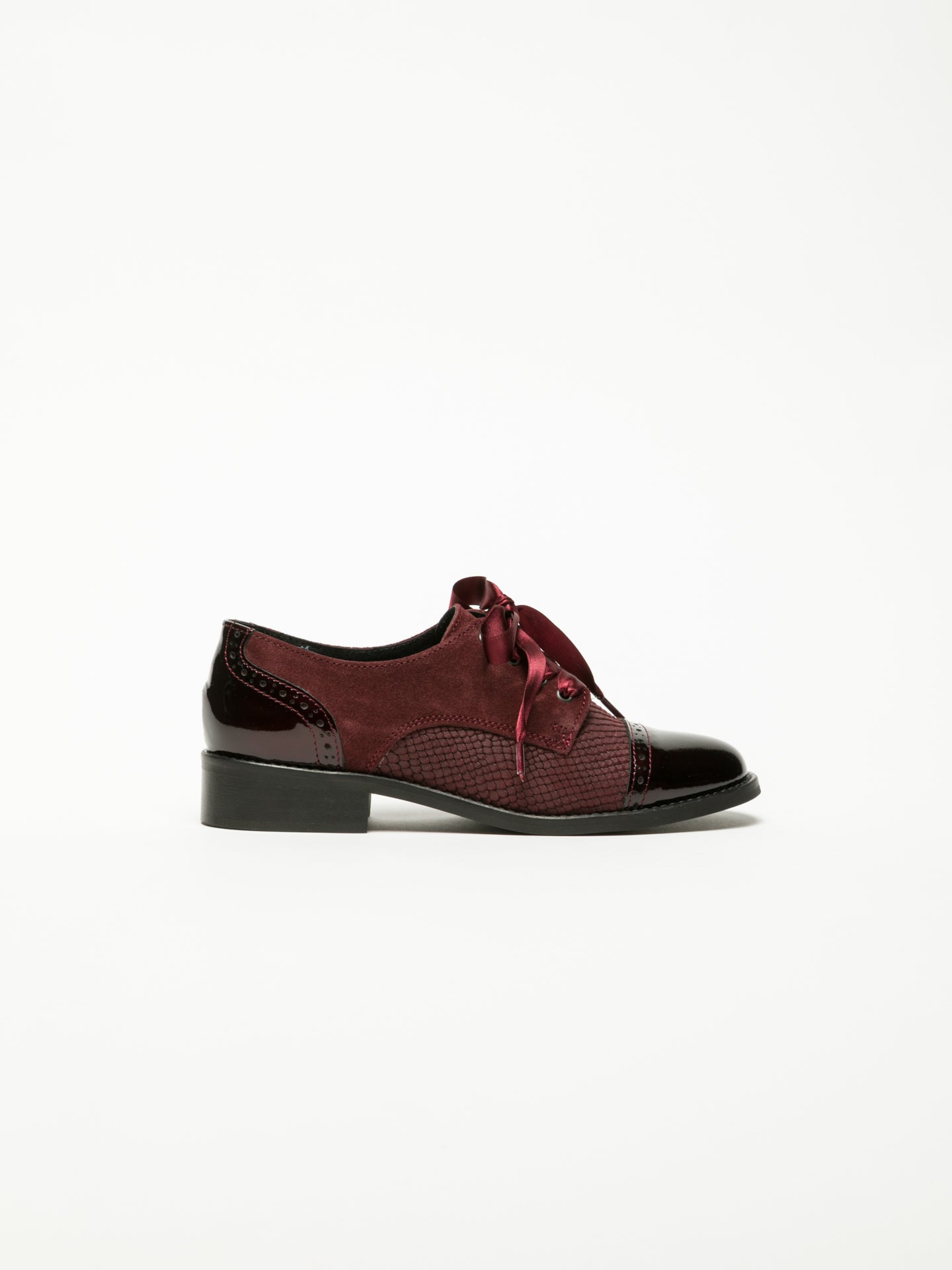 Foreva DarkRed Derby Shoes