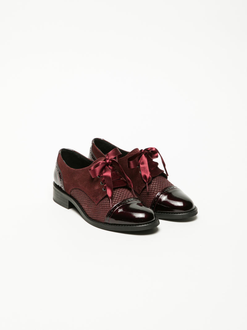 DarkRed Derby Shoes