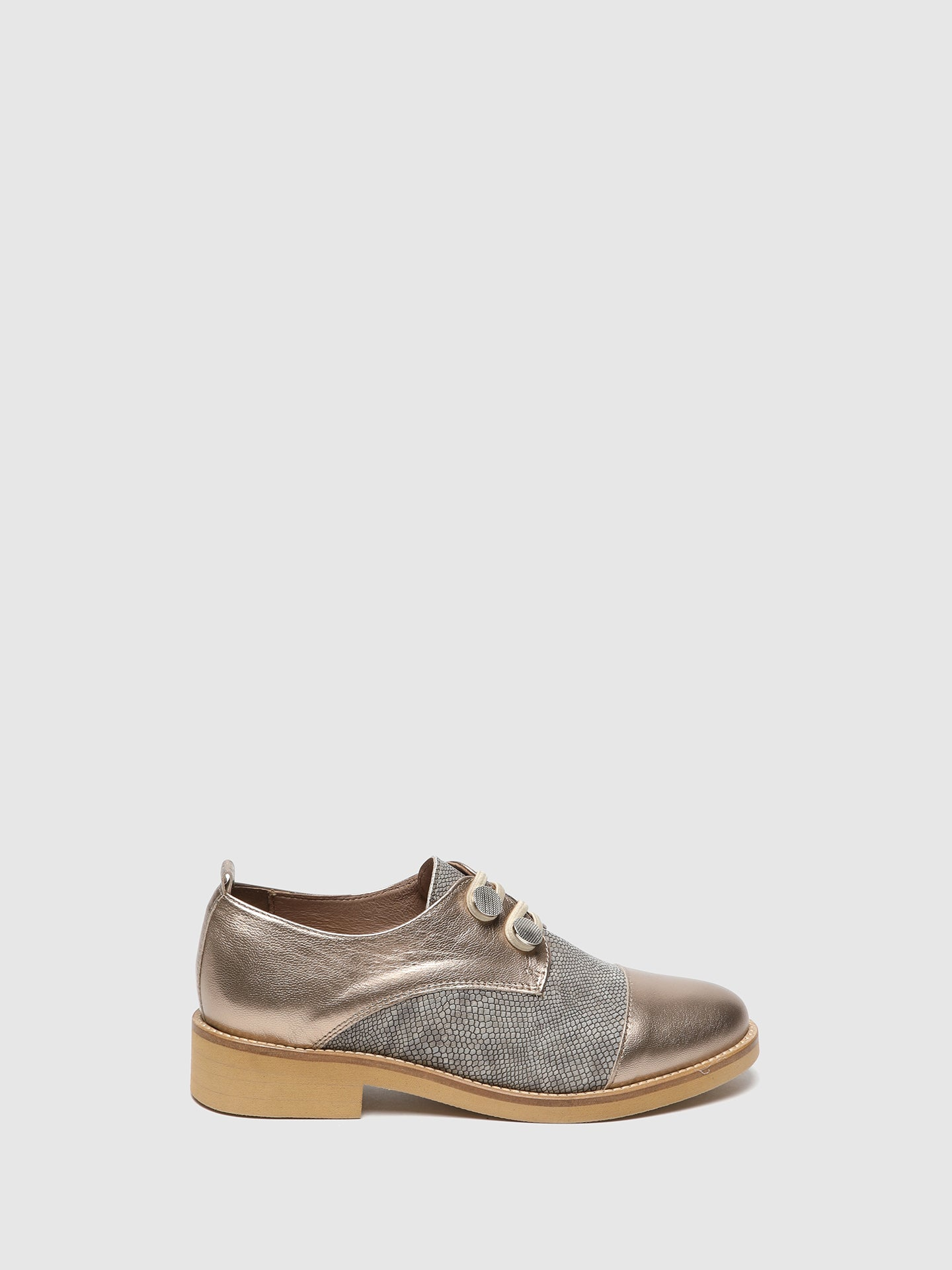 Foreva Gold Derby Shoes