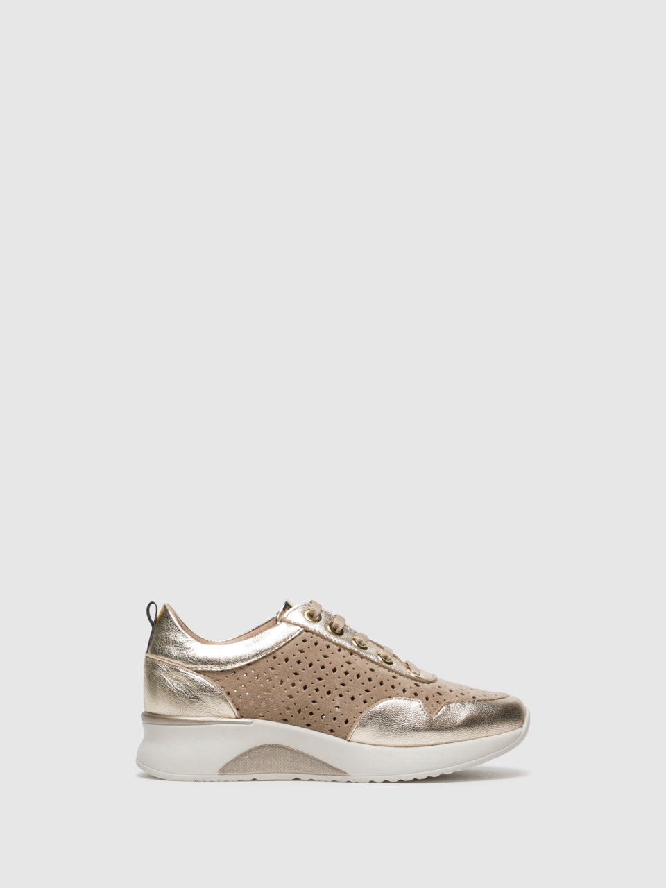 Foreva Tan Lace-up Trainers