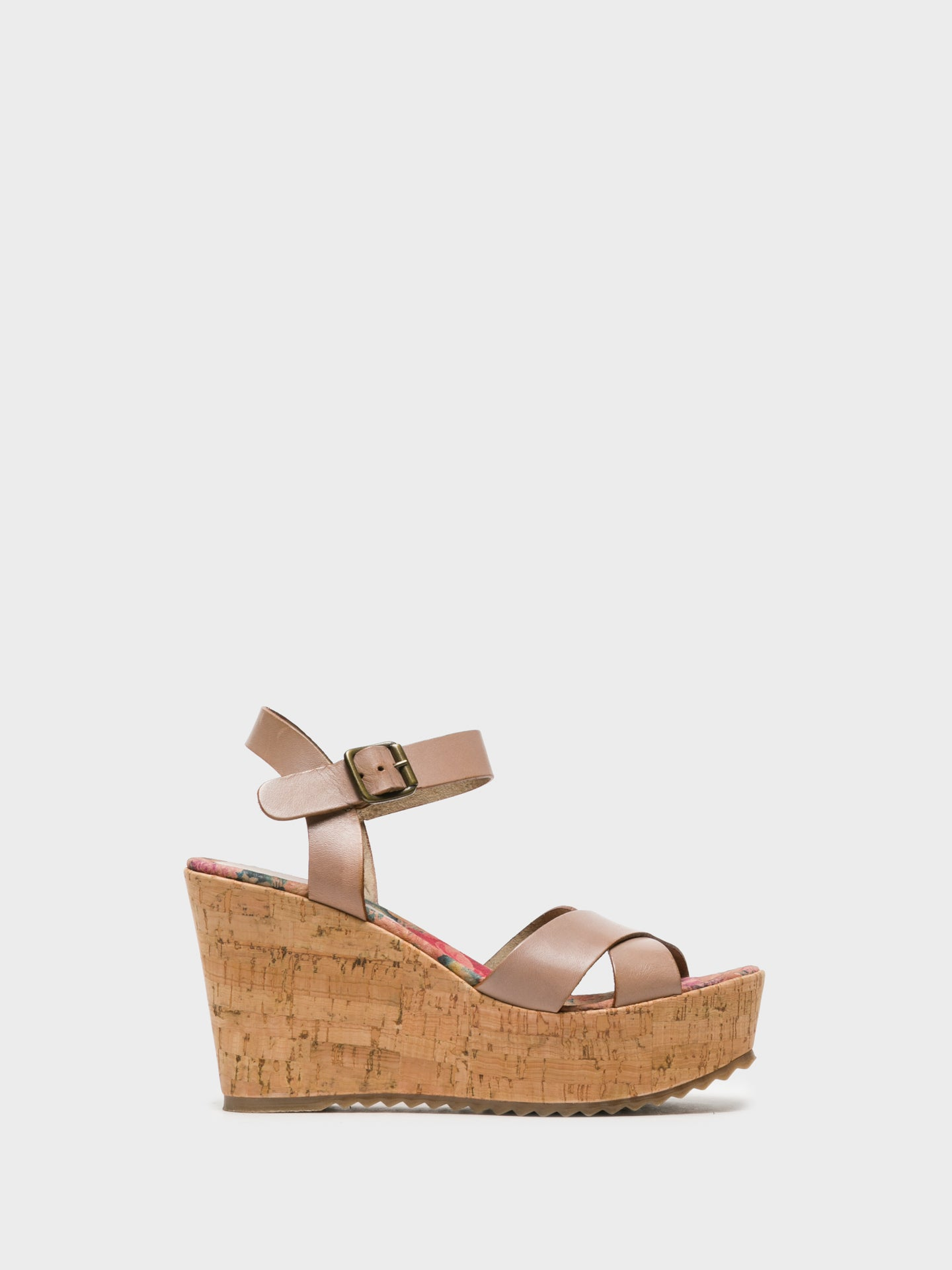 Foreva Wheat Wedge Sandals