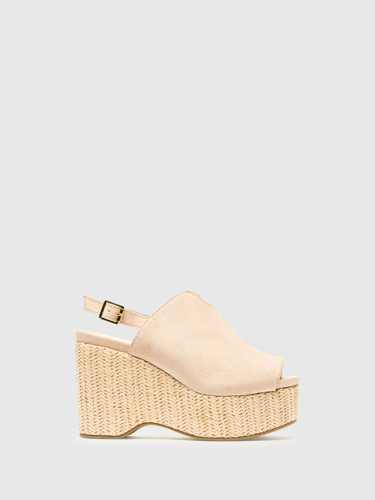 Foreva Pink Wedge Mules
