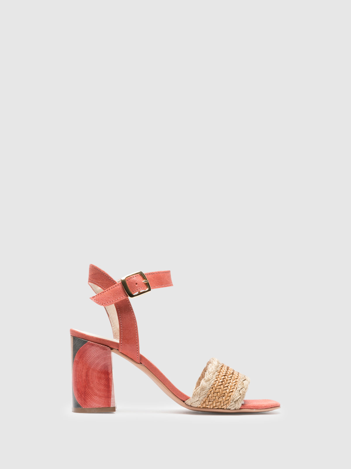 Foreva Pink Ankle Strap Sandals