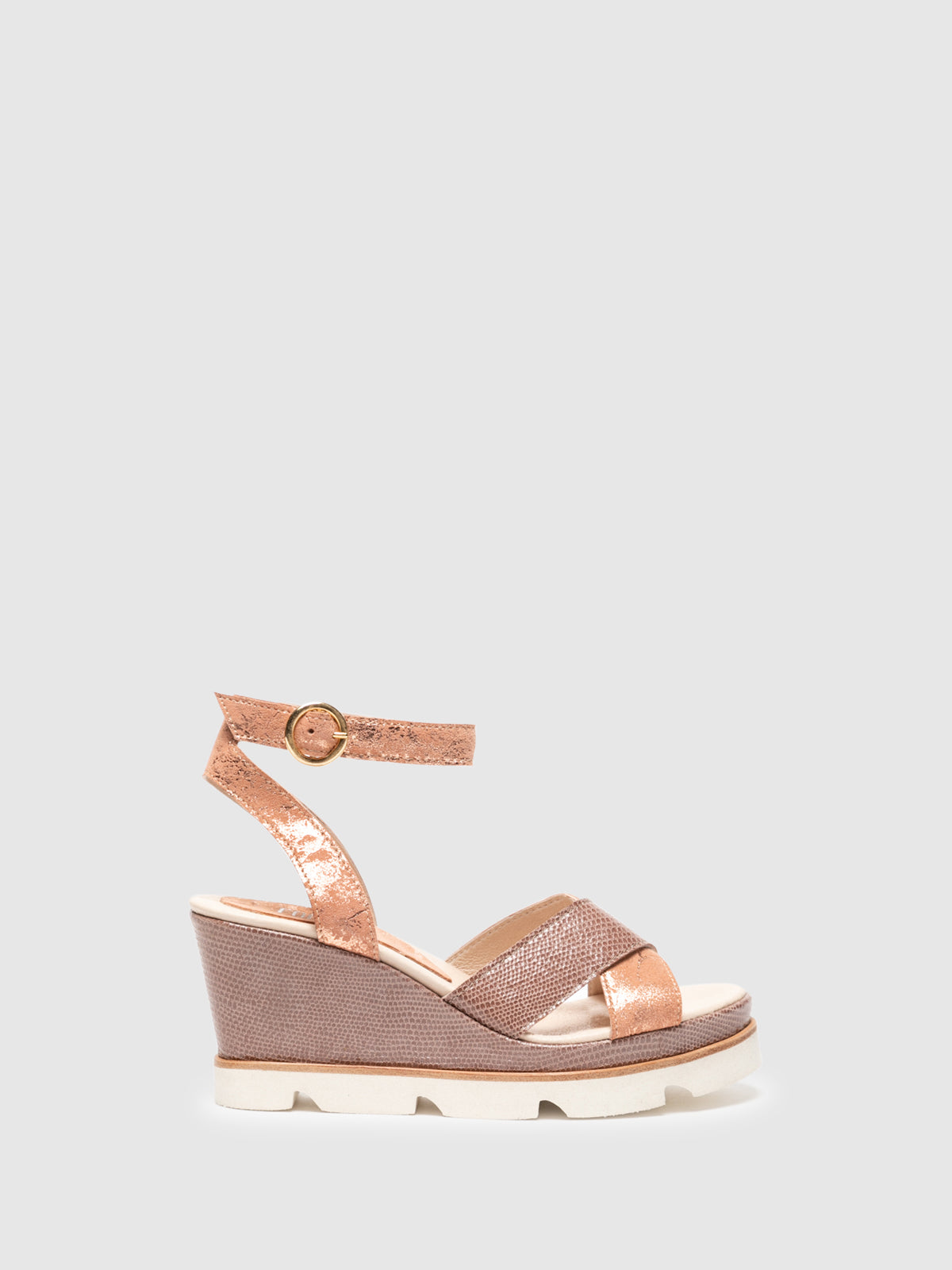 Foreva Pink Wedge Sandals