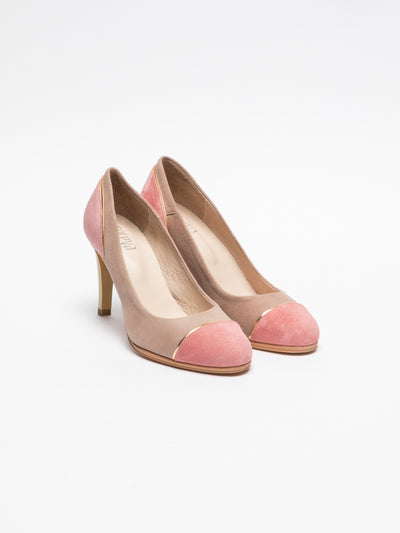 Foreva Multicolor Round Toe Pumps Shoes