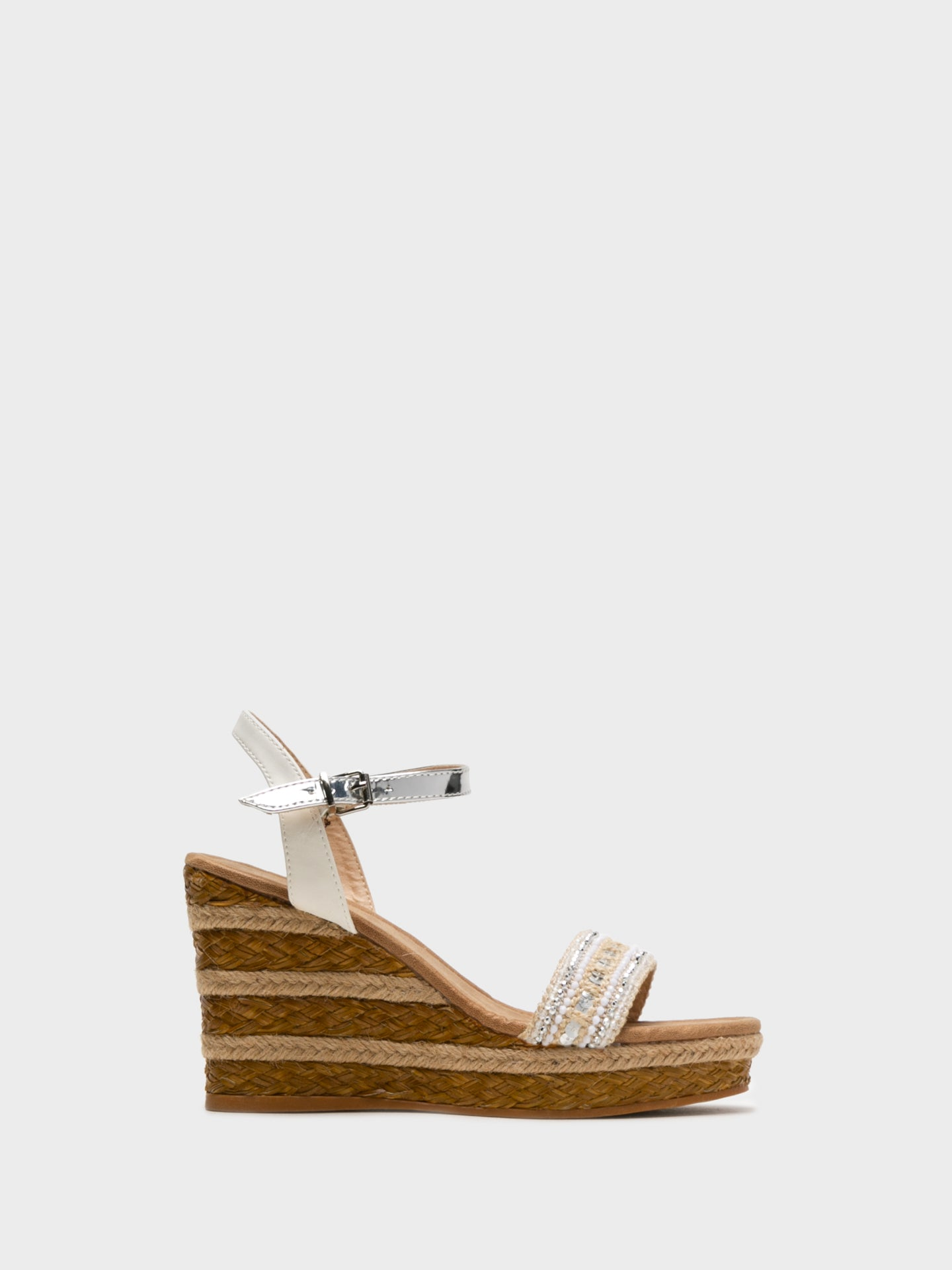 Foreva White Wedge Sandals