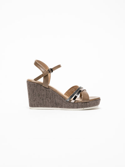 Foreva Tan Wedge Sandals