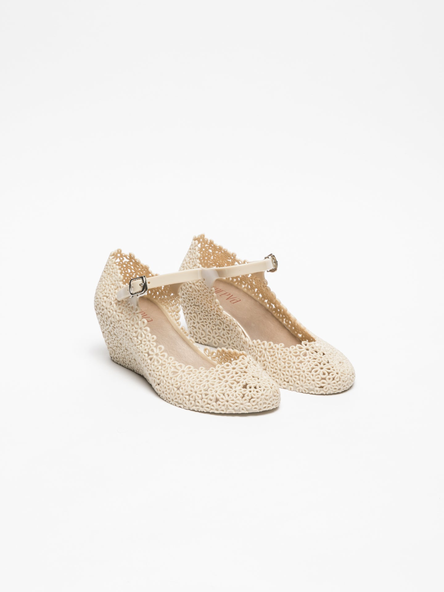Foreva Beige Platform Shoes