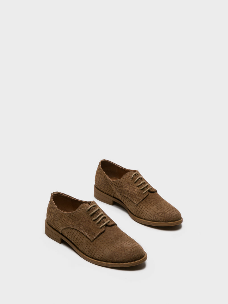 Wheat Derby Shoes