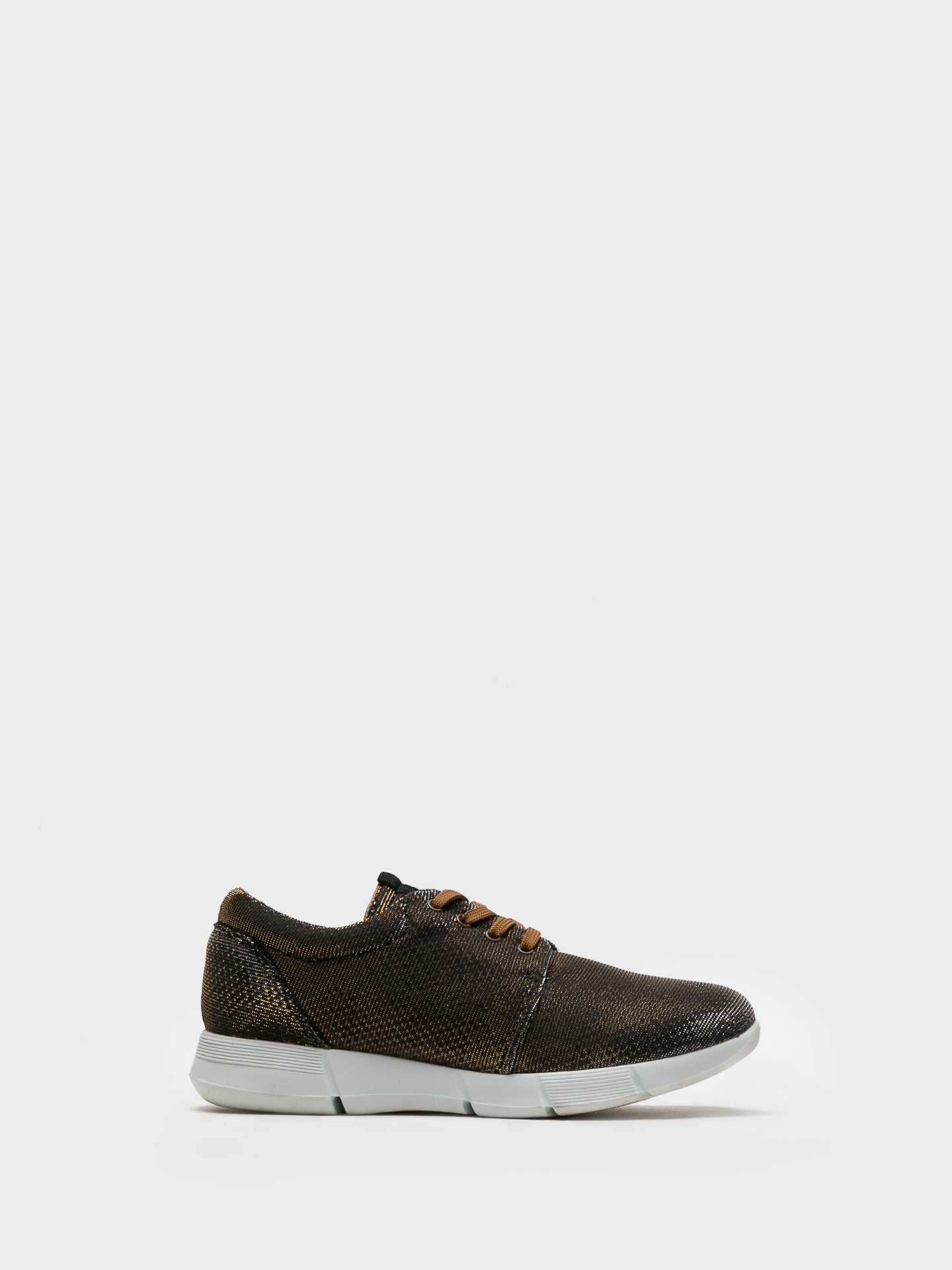 Foreva Gold Lace-up Trainers