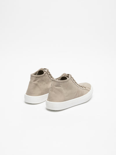 Foreva Tan Hi-Top Trainers